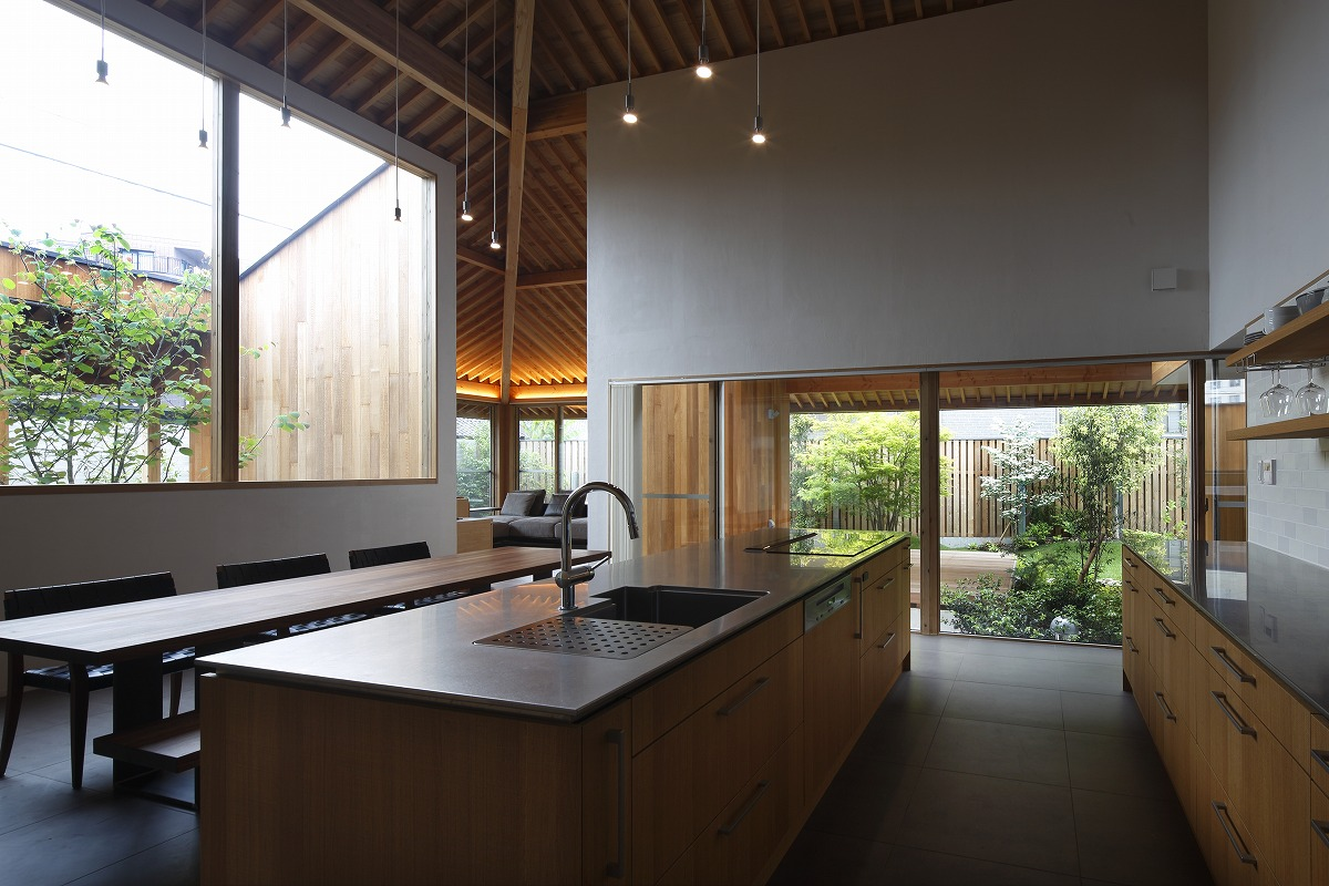 第50回中部建築賞入選 お庭の設計施工担当しました。  (昭和区H様邸)
